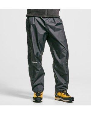 Berghaus Stormcloud Waterproof Overtrousers - Black/Black, BLACK/BLACK