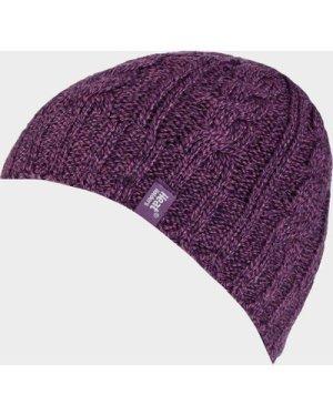 Heat Holders Women's Thermal Hat - Purple/Hat, Purple/HAT
