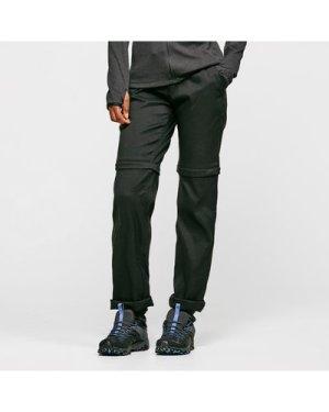 Craghoppers Women's Kiwi Pro Convertible Trousers (Long) - Black/Blk, Black/BLK