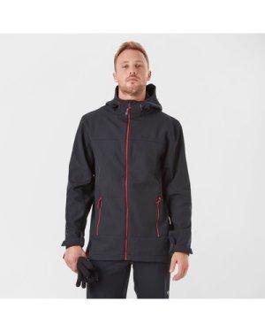 Peter Storm Men's Hooded Softshell Jacket - Black/Red, Black/Red