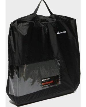 Eurohike Hampton 4 Tent Footprint - Black/Blk, Black/BLK