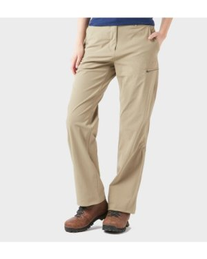 Peter Storm Women's Stretch Roll Up Trousers - Cream/Stn, Cream/STN