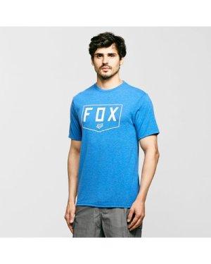 Fox Shield Short Sleeve Tech Tee - Blue/Blu, Blue/BLU