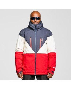 Protest Men's Blake Ski Jacket - Multi/Navy, Multi/Navy