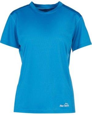Peter Storm Women's Short Sleeve Tech Tee - Blue/Blu, Blue/BLU