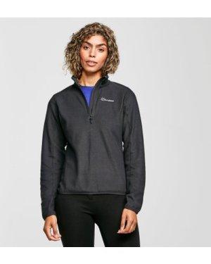 Berghaus Women's Hendra Half Zip Fleece - Black/Blk$, Black/BLK$