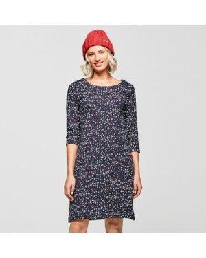 Weird Fish Women's Starshine Dress - Navy/Navy, NAVY/NAVY