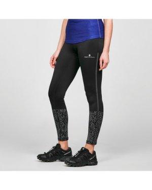 Ronhill Women's Nightrunner Running Tights - Black/Blk, Black/BLK