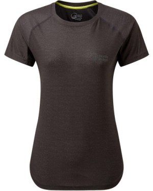 North Ridge Women's Synergy Ss Top - Black/Gry, Black/GRY