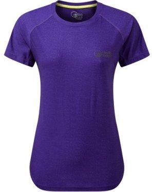 North Ridge Women's Synergy Ss Top - Purple/Pur, Purple/PUR