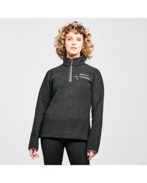 Berghaus Women's Darria Half Zip Fleece - Black/Black, Black/Black