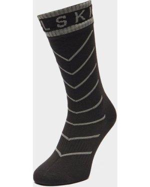 Sealskinz Waterproof Warm Weather Mid Length Socks - Black/Blk, Black/BLK