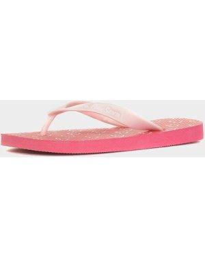 Peter Storm Kids' Love Me Flip Flops - Pink/Dpi, Pink/DPI