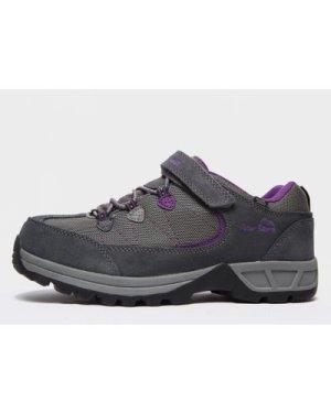 Peter Storm Kids' Harwood Ii Low Hiking Shoes - Grey/Lgy, Grey/LGY