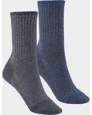 Hi-Gear Kids' Walking Socks (2 Pair Pack) - Multi/Child, Multi/CHILD