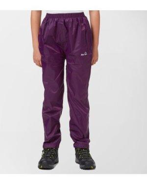 Peter Storm Kids' Packable Pants - Purple/Pup, Purple/PUP
