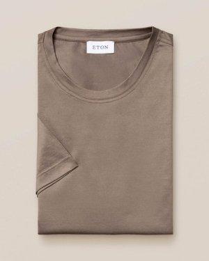 Cedar Filo di Scozia Cotton T-Shirt