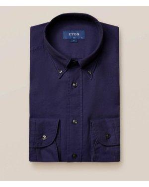 Navy oxford shirt - soft