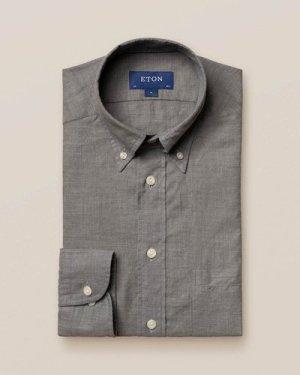 Grey Lightweight Flannel Shirt
