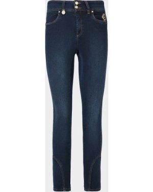 Women's Holland Cooper Jodhpur Skinny Jeans Blue, Navy