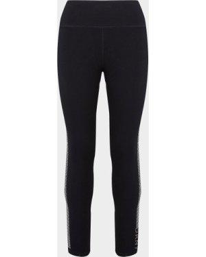 Women's DKNY Rhinestone Leggings Black, Black