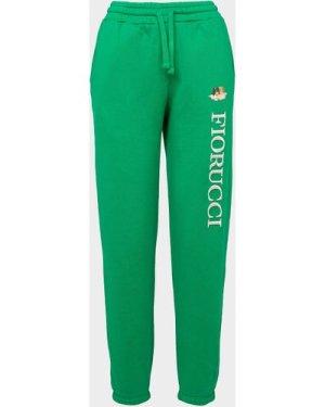 Women's Fiorucci Vintage Angel Joggers Green, Green