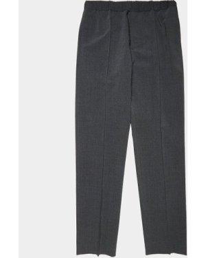 Men's Helmut Lang Elasticated Track Pants Grey, Dark Grey