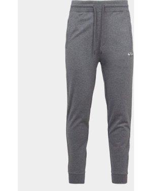 Men's HUGO Dibex Central Logo Track Pants Grey, Grey