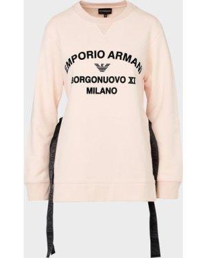 Women's Emporio Armani Logo Sweatshirt Pink, Pink