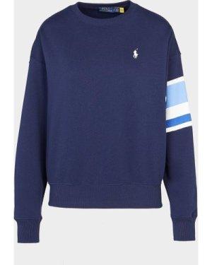 Women's Polo Ralph Lauren Crew Sweatshirt Blue, Navy