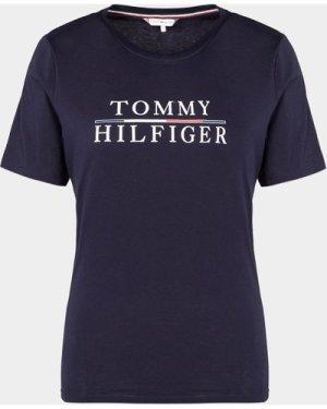 Women's Tommy Hilfiger T-Shirt Blue, Navy