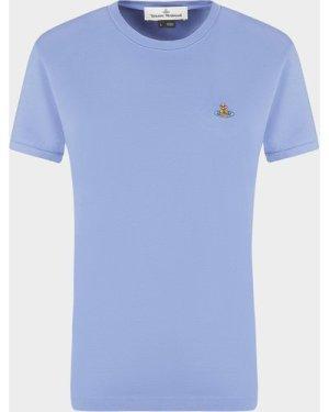 Women's Vivienne Westwood Classic Orb T-Shirt Purple, Lilac