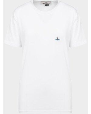 Women's Vivienne Westwood Classic Orb T-Shirt White, White