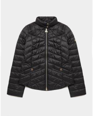 Women's Barbour International Quilted Jacket Black, Black