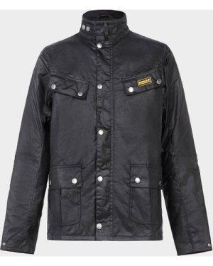 Barbour Duke Jacket Black, Black