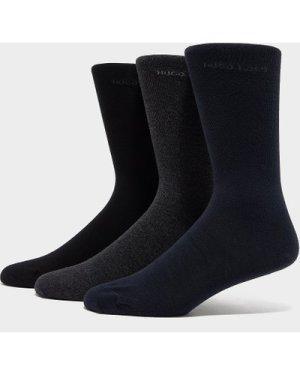 Men's BOSS 3-Pack Socks Gift Pack Black/Navy, Black/Navy