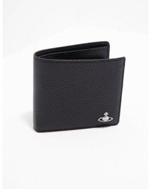 Men's Vivienne Westwood Orb Pocket Wallet Black, Black/Black
