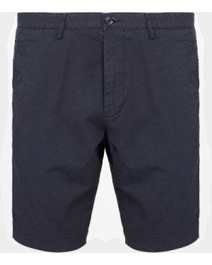 Men's BOSS Slice Chino Shorts Blue, Navy