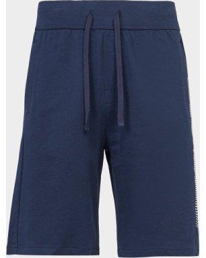 Men's BOSS Authentic Grid Shorts Blue, Navy/Blue