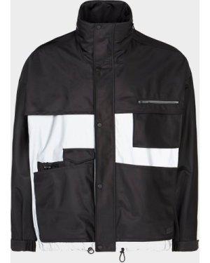 Men's HUGO Batu 3M Panel Jacket Black, Black