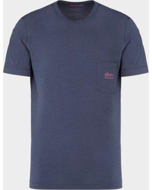 Men's Albam Graphic Pocket T-Shirt Blue, Navy