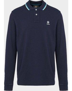 Men's Sandbanks Tipped Polo Shirt Blue, Navy