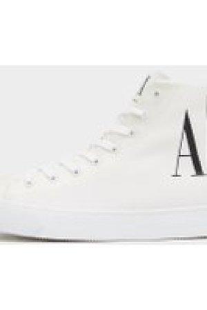 Men's Armani Exchange Icon Gum Trainers White, White