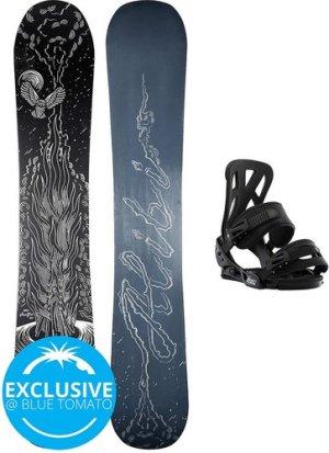 Alibi Snowboards Soulfire 151 + Burton Infidel M 2021 Snowboard Set uni