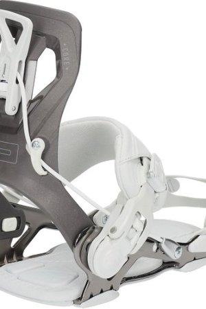 SP Core Snowboard Bindings 2021 gun metal