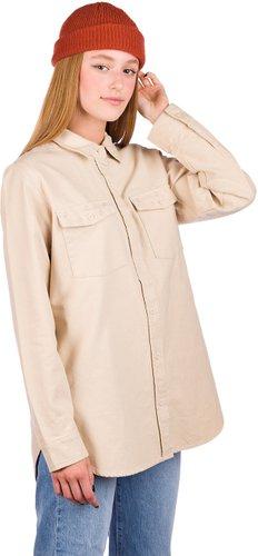 Burton Grace Premium Flannel Shirt creme brulee