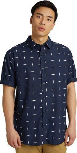 Burton Shabooya Camp Shirt dressblue basketikat