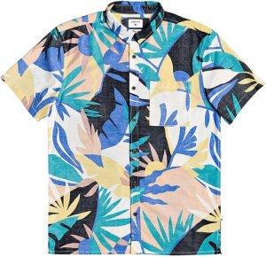 Quiksilver Tropical Flow Shirt snow white tropical flo