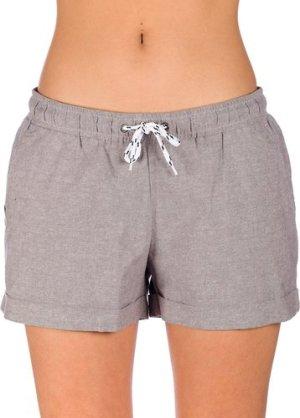 Iriedaily Chambray Girl Shorts grey mel