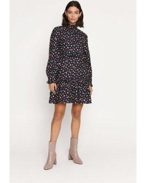 Womens Ditsy Cotton Smock Dress - multi, Multi